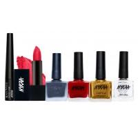 Nykaa Bold Eyes Lips & Nails Combo