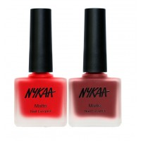 Nykaa Paint Me Red Nail Combo