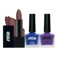 Nykaa Love Me Now Lips And Nails Combo