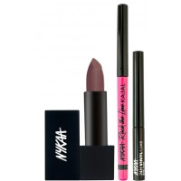 Nykaa Get Dramatic Look Eyes & Lips Combo