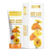 Richfeel Anti Acne With Calendula Extracts Face Wash - Buy 1 Get 1