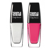 Sally Hansen Triple Shine Nail - 170 Great White + Free 210 Reef-Raf