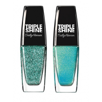 Sally Hansen Triple Shine Nail - 330 Fanta - Sea + Free 160 Make Waves