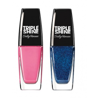 Sally Hansen Triple Shine Nail - 200 Pixie Slicks + Free 380 Wavy Blue