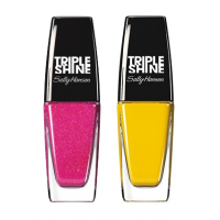 Sally Hansen Triple Shine Nail - 220 Flame On + Free 250 Lemon Shark