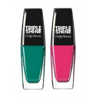 Sally Hansen Triple Shine Nail - 640 Seasational + Free 600 Pink Coconut