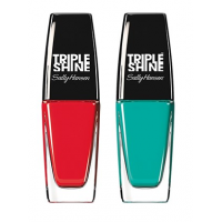 Sally Hansen Triple Shine Nail - 230 Red Snapper + Free 280 Dive In