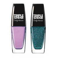 Sally Hansen Triple Shine Nail - 140 Drama Sheen + Free 360 Sparkling Water