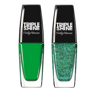 Sally Hansen Triple Shine Nail - 270 Kelp Out + Free 350 Seanic