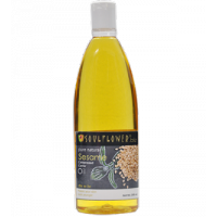 Soulflower Coldpressed Sesame Pure Natural Carrier Oil
