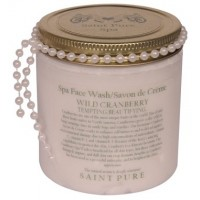 Saint Pure Spa Wild Cranberry Beautifying Spa Face Wash