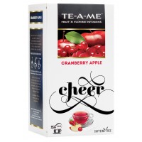 TE-A-ME Cranberry Apple Infusion Tea