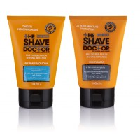 The Shave Doctor Face Wash Scrub + Moisturazor