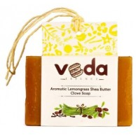 Veda Essence Aromatic Lemongrass Shea Butter Clove Soap
