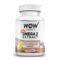 Wow Omega-3 Extract (60 Capsule) (Buy 1 Get 1)