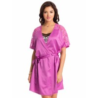 PrettySecrets Frozen Plum Midnight Spell Short Wrap