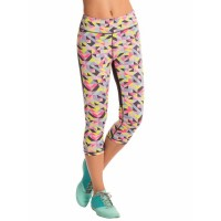 PrettySecrets Geo Pop Energise Workout Cropped Leggings