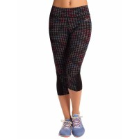 PrettySecrets Black Cluster Energise Workout Cropped Leggings