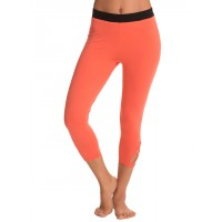 PrettySecrets Spicy Orange Yoga Love Capris