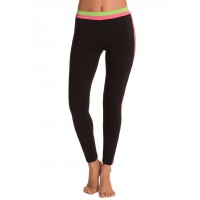 PrettySecrets Black & Coral Green Ultimate Workout Leggings