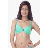PrettySecrets Sexy Lace Push Up Bra - Green