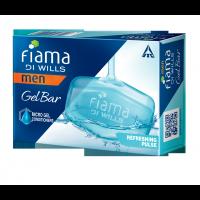 Fiama Di Wills Men Refreshing Pulse Gel Bar - Pack Of 3