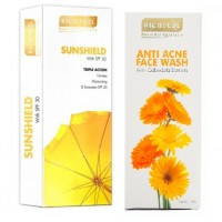 Richfeel Sunshield With SPF 30 With Free Anti Acne Face Wash Worth Rs.159