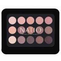 Natio Natural Shades Eyeshadow Palette - Rosebud