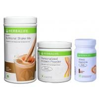 Herbalife Weight Loss Combo - Dutch Chocolate Protein Powder & Afresh Cinnamon