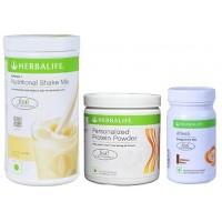 Herbalife Weight Loss Combo - French Vanilla Protein Powder & Afresh Cinnamon