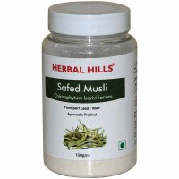 Herbal Hills Safed Musli Powder