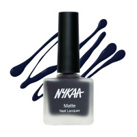Nykaa Fall Winter Matte Nail Enamel - Sapphire Dreams 115