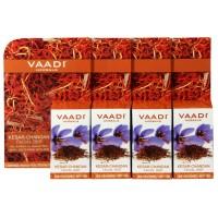 Vaadi Herbals Value Pack Of 4 Kesar Chandan Facial Bars