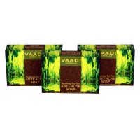 Vaadi Herbals Value Pack Of 3 Becalming Tea Tree Soap Anti-Acne Therapy