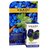 Vaadi Herbals Blueberry Facial Bar With Extract Of Mint