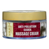 Vaadi Herbals Silver Massage Cream - Pure Silver Dust & Rosemary Oil