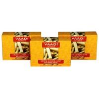 Vaadi Herbals Value Pack Of 3 Divine Sandal Soap With Saffron & Turmeric