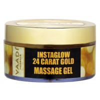 Vaadi Herbals 24 Carat Gold Massage Gel With 24 Carat Gold Dust & Grape Seed Extract