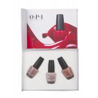 O.P.I Iconic Nudes (Nail lacquer kit)