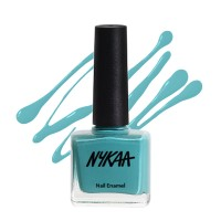 Nykaa Pastel Nail Enamel - So Teal-Icious, No.68