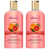 St.Botanica Pink Grapefruit & Vitamin C Luxury Shower Gel (Pack Of 2)