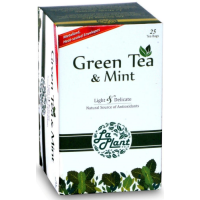 LaPlant Green Tea & Mint - 25 Tea Bags