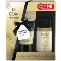 Olay Total Effects 7 In One Day Cream Gentle SPF 15 + Free Foaming Cleanser