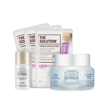 The Face Shop Therapy Anti-Aging No Shine Hydrating Cream Combo
