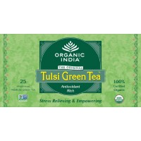 Organic India Tulsi Green Tea Bags
