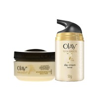 Olay Total Effects 7 In 1 Anti Ageing Day And Night Regime For Normal Skin