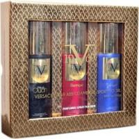 Versace 19.69 Italia - Prive Oudh + Electrique + Vibrante  Deodorant Gift Set For Men (Set of 3)