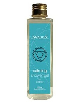 Ananda Calming Wild Rose Shower Gel