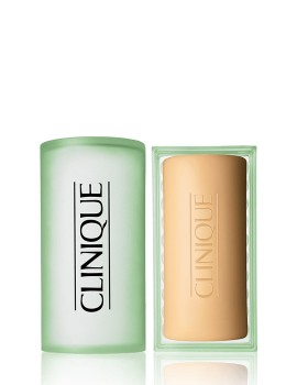 Clinique Facial Soap Extra Strength With Dish - Combination Oily To Oily Skin