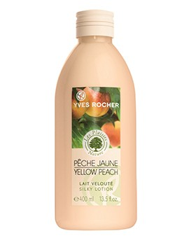 Yves Rocher Les Plaisirs Nature Yellow Peach Lait Veloute Silky Lotion